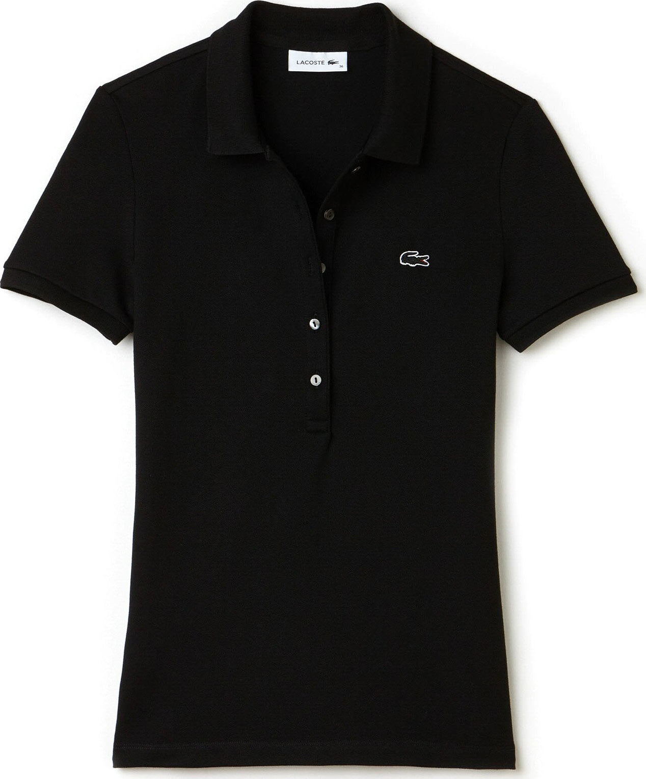 9d227f2f15 Lacoste Slim Fit Stretch Mini Cotton Piqué Polo - Women's | Altitude ...