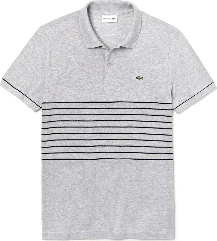 43ce4c4da Lacoste Lacoste MADE IN FRANCE Striped Cotton Petit Piqué Polo Shirt - Men's