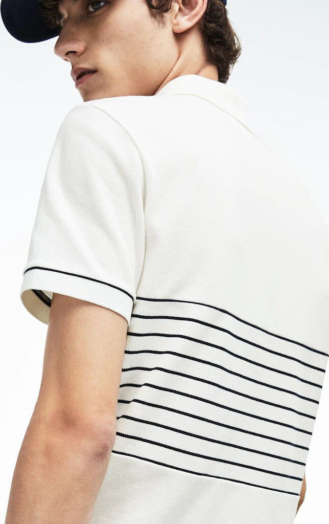 224037f977 ... Lacoste MADE IN FRANCE Striped Cotton Petit Piqué Polo Shirt - Men's  thumb ...
