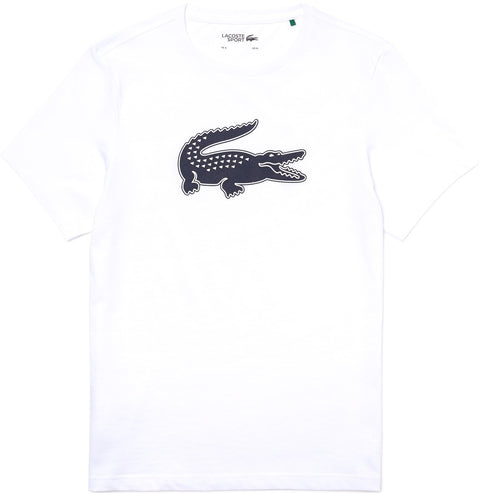 Lacoste Lacoste SPORT 3D Print Crocodile Breathable Jersey T-Shirt - Men's