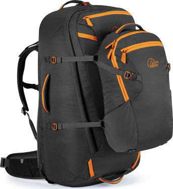 226c1282a04 Loading spinner Lowe Alpine AT Voyager ND65+15 Backpack Anthracite -  Tangerine