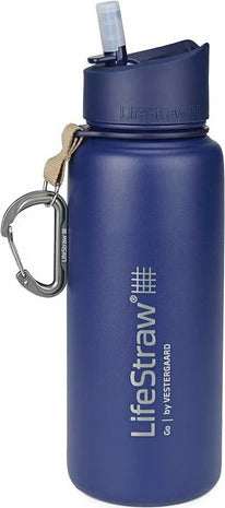 LifeStraw Go Filtration Bottle - Stainless Steel