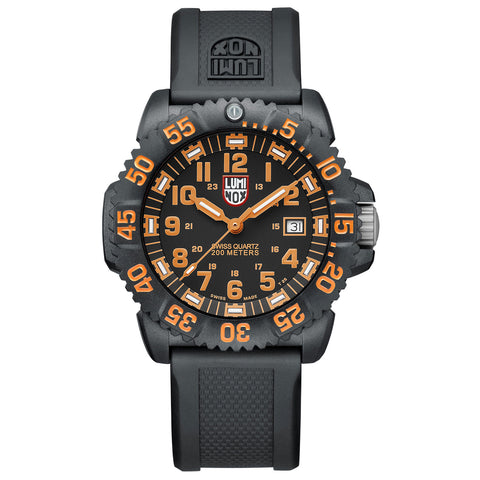 Luminox Navy Seal Colormark 3050 Series - 44mm - Signature PU Strap & PC Carbon