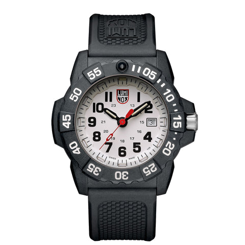 Luminox Navy Seal 3500 Series - 45mm Watch - Signature PU Bracelet