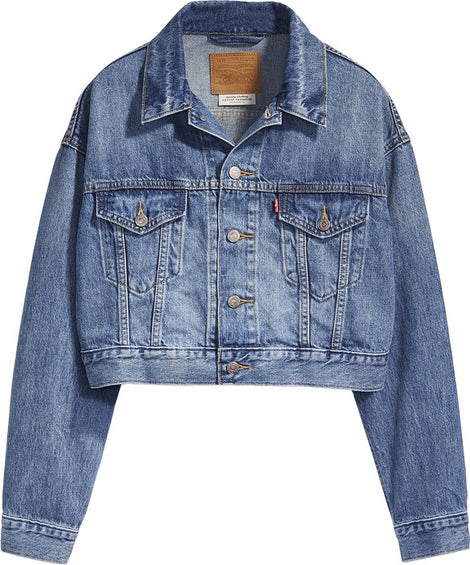 Levi's Crop Dad Trucker - Women's