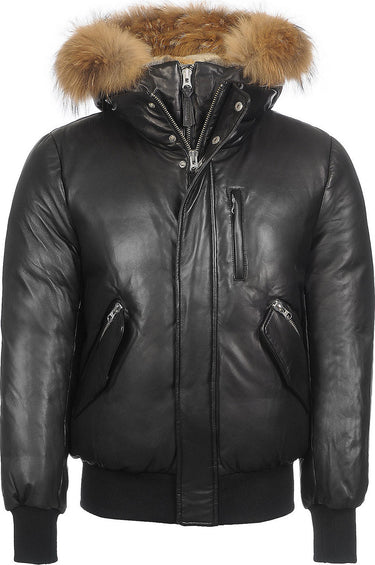 Mackage Men's Glen Leather Down Jacket