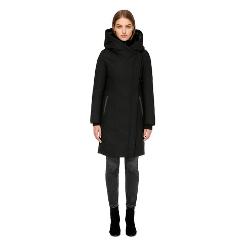 Mackage Women's Mari Hooded Wool Down Coat