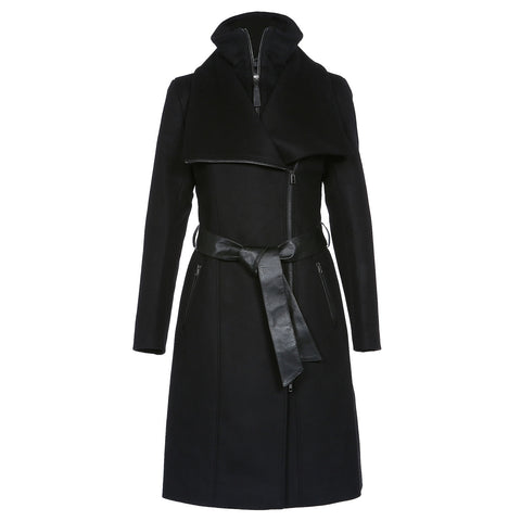 Mackage Women's Nori Flat Wool Coat