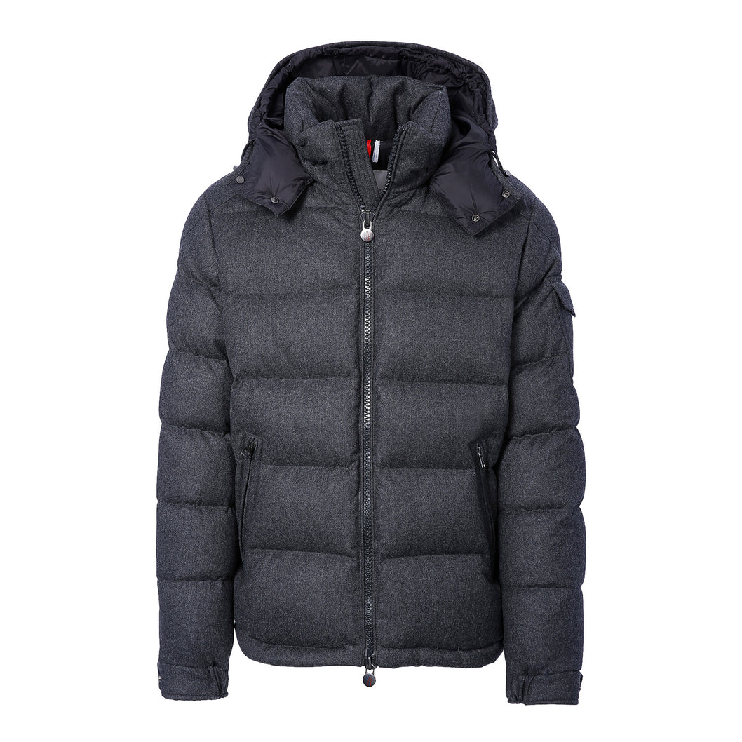 Men's Montgenevre Down JacketCharcoal ...