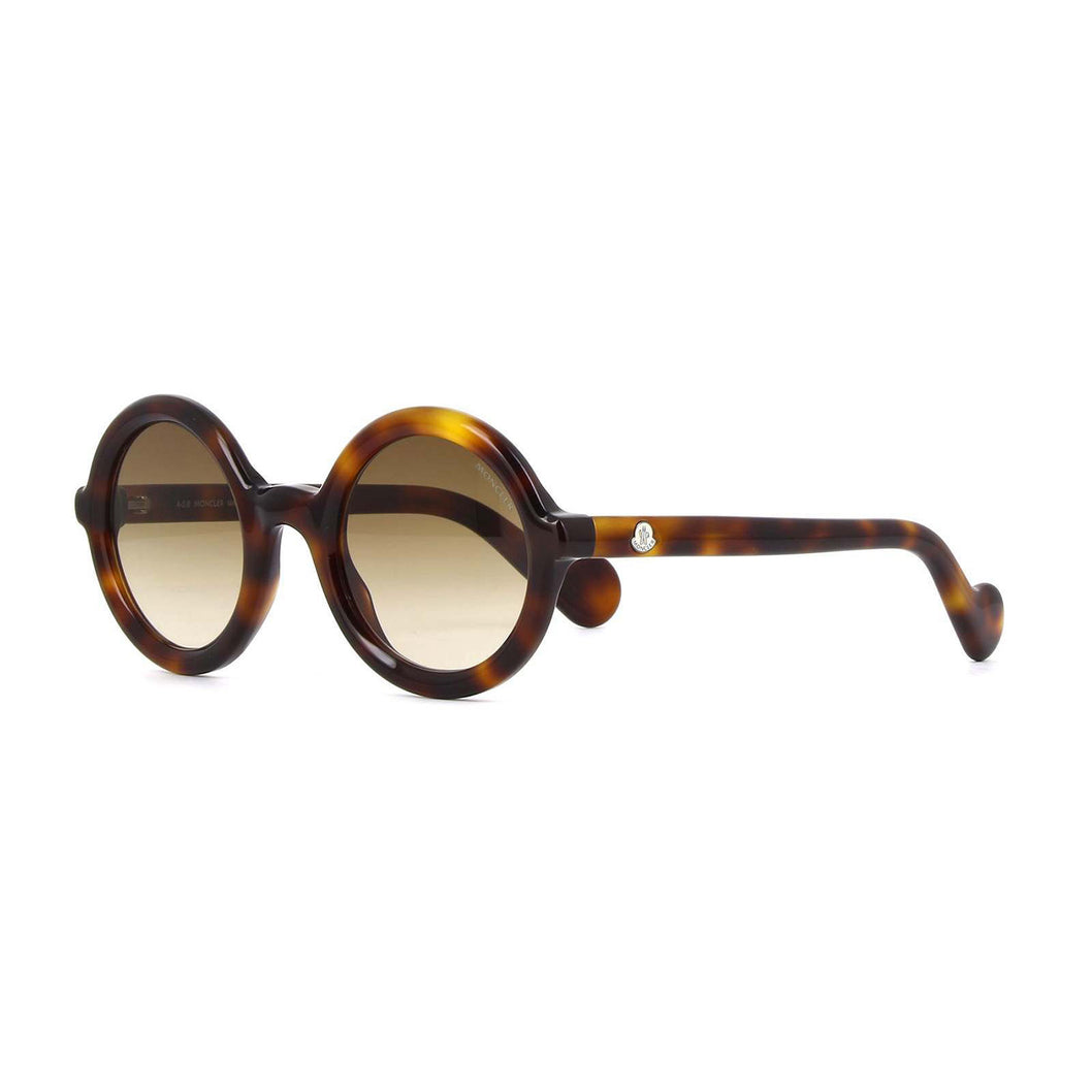 Women's Mrs Moncler SunglassesDark Havana - Gradient Brown ...