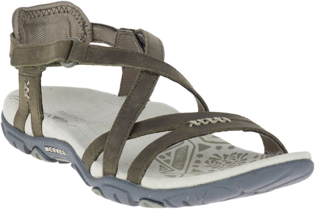 ecf222a6a38 Merrell Sandspur Rose Leather Sandals - Women s