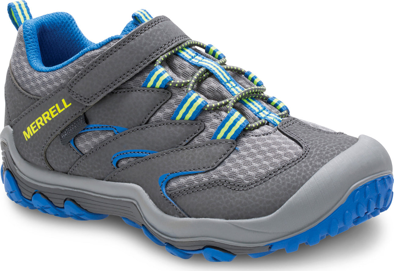 Merrell Boys Chameleon 7 Low A//C Waterproof Shoes Black Sports Outdoors