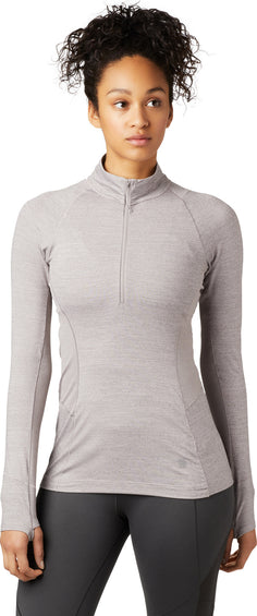 Mountain Hardwear Ghee Long Sleeve 1/4 Zip - Women's