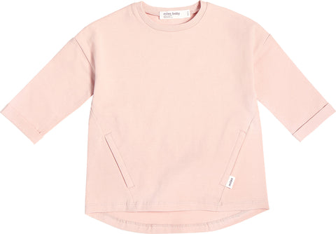 Miles Baby Tunique Miles Basic rose pâle - Enfant