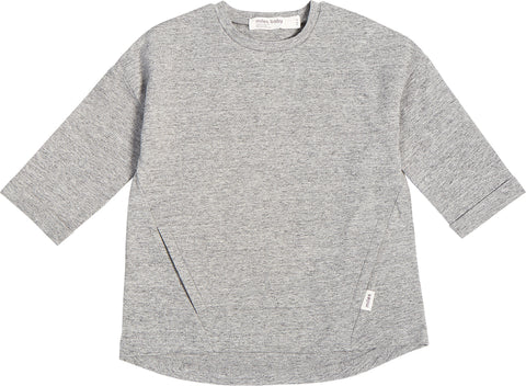 Miles Baby Miles Basic Heather Grey Tunic - Kids