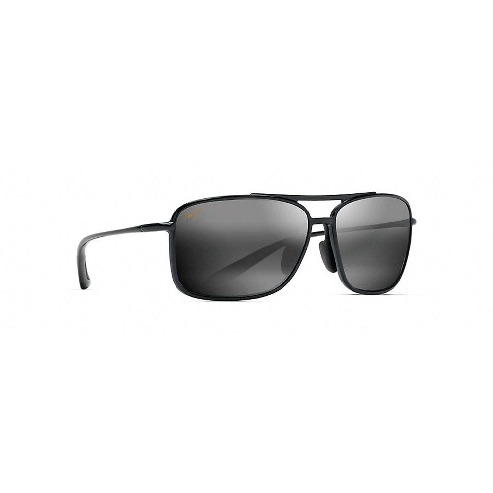 2c098ce5e20 Maui Jim Kaupo Gap - Gloss Black Frame - Neutral Grey Polarized Lens ...