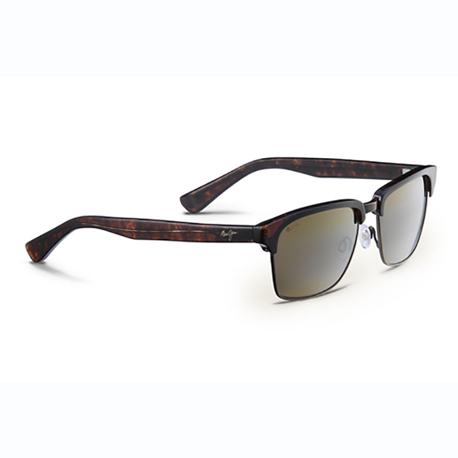 c4b787a2ee74 Maui Jim Kawika Gold Satin - Hcl Bronze Lens | Altitude Sports
