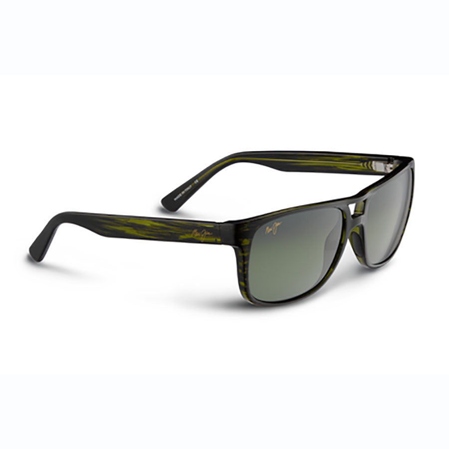 933ef7f552 Maui Jim Waterways Olive Stripe - Maui Ht Lens