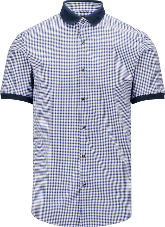 Michael Kors Chemise extensible Amos Check - Homme