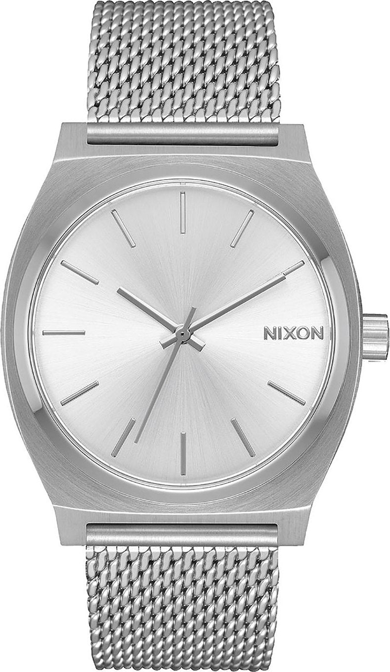 be45c96a912 Nixon Time Teller Milanese - All Silver - Women s
