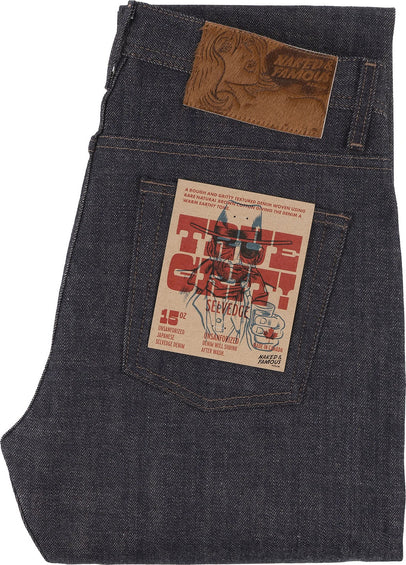 Naked & Famous Weird Guy Jeans - True Grid Selvedge - Men's