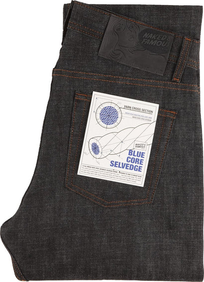 Naked & Famous Weird Guy - Blue Core Selvedge - Men's