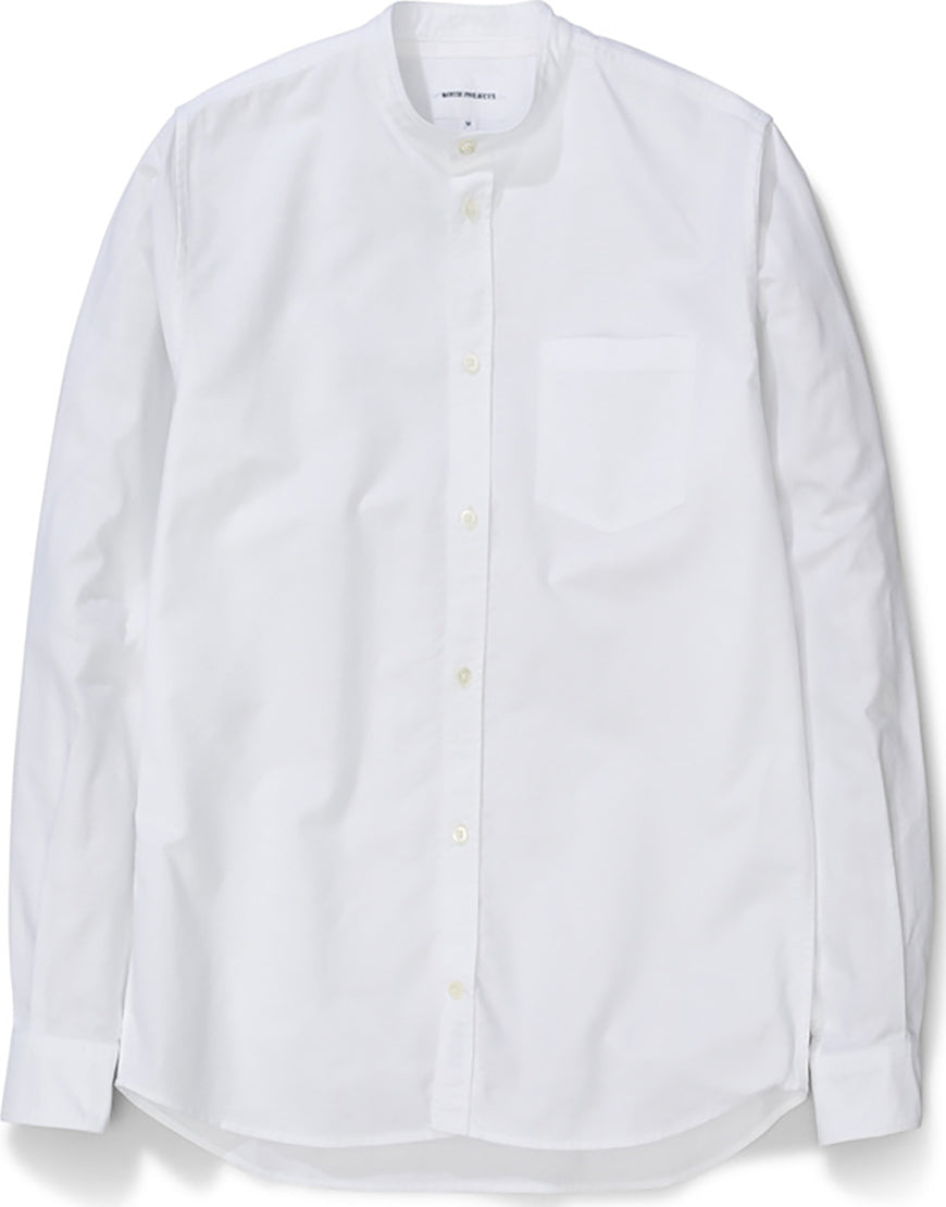 Norse Projects Chemise Sans Col Oxford Homme   Altitude Sports f333f1c2a924