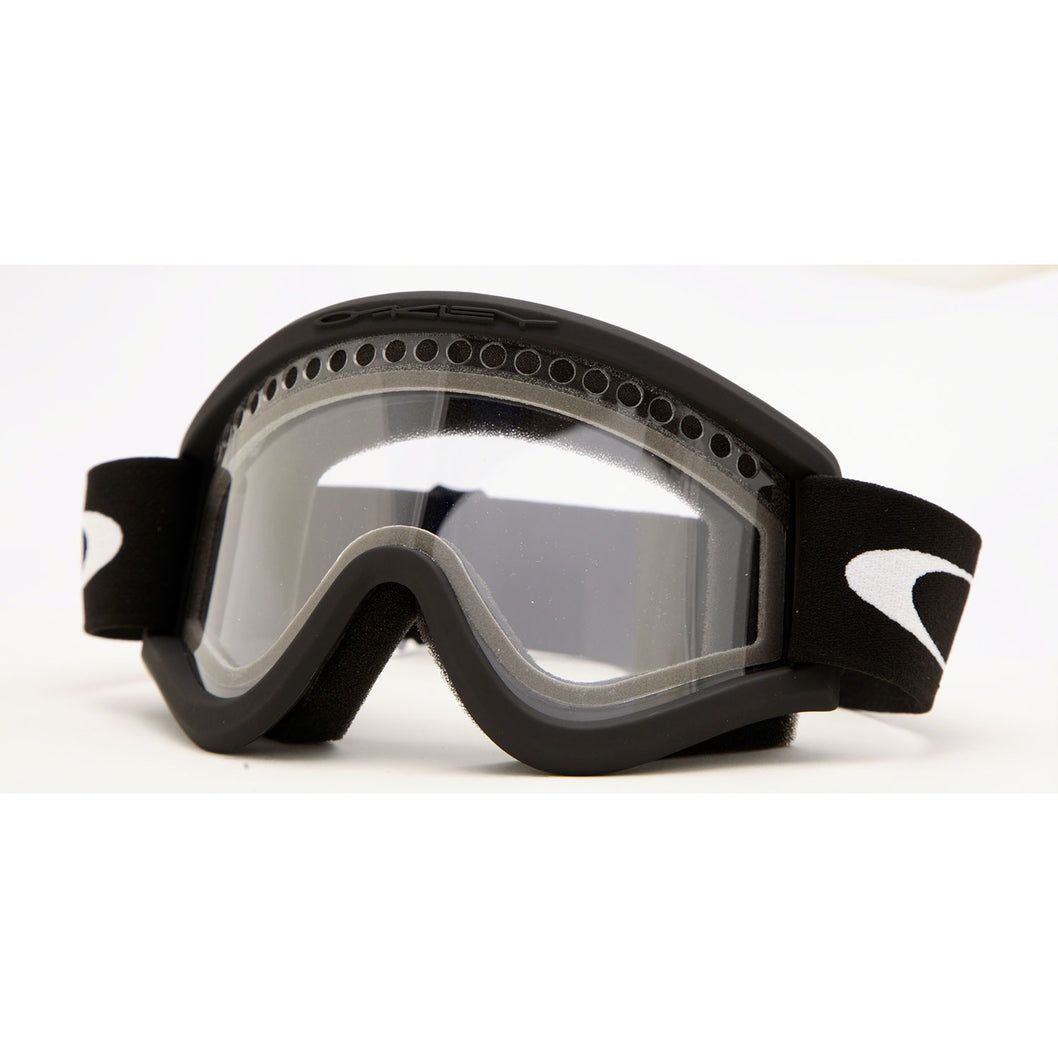 Oakley E-frame - Black - Dual Vented Clear Lens Goggles | Altitude ...