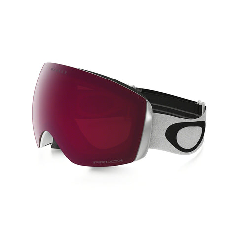 Oakley Flight Deck XM - Matte White - Prizm Rose Lens Goggles