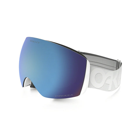 Oakley Flight Deck XM - Factory Pilot Whiteout - Prizm Sapphire Iridium Lens Goggles