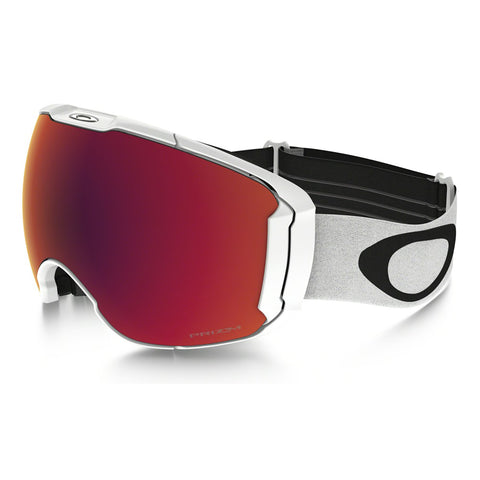 Oakley Lunettes de ski Airbrake XL - Polished White - Lentille Prizm Torch Iridium & Prizm Rose