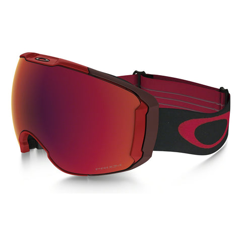Oakley Airbrake XL - Obsessed Line Red - Prizm Torch Iridium & Prizm Rose Lens Goggles