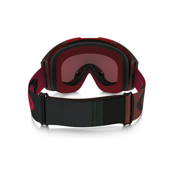 d5514ac721a Oakley Airbrake Xl - Obsessed Line Red - Prizm Torch Iridium   Prizm Rose  Lens Goggles