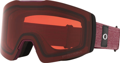 Oakley Fall Line XM Goggle - Heathered Grenache Grey - Prizm Snow Rose Lens