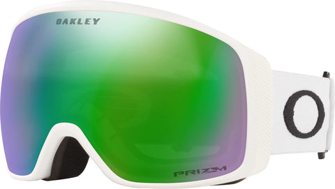 Oakley Flight Tracker XL Goggle - Matte White - Prizm Snow Jade Iridium Lens