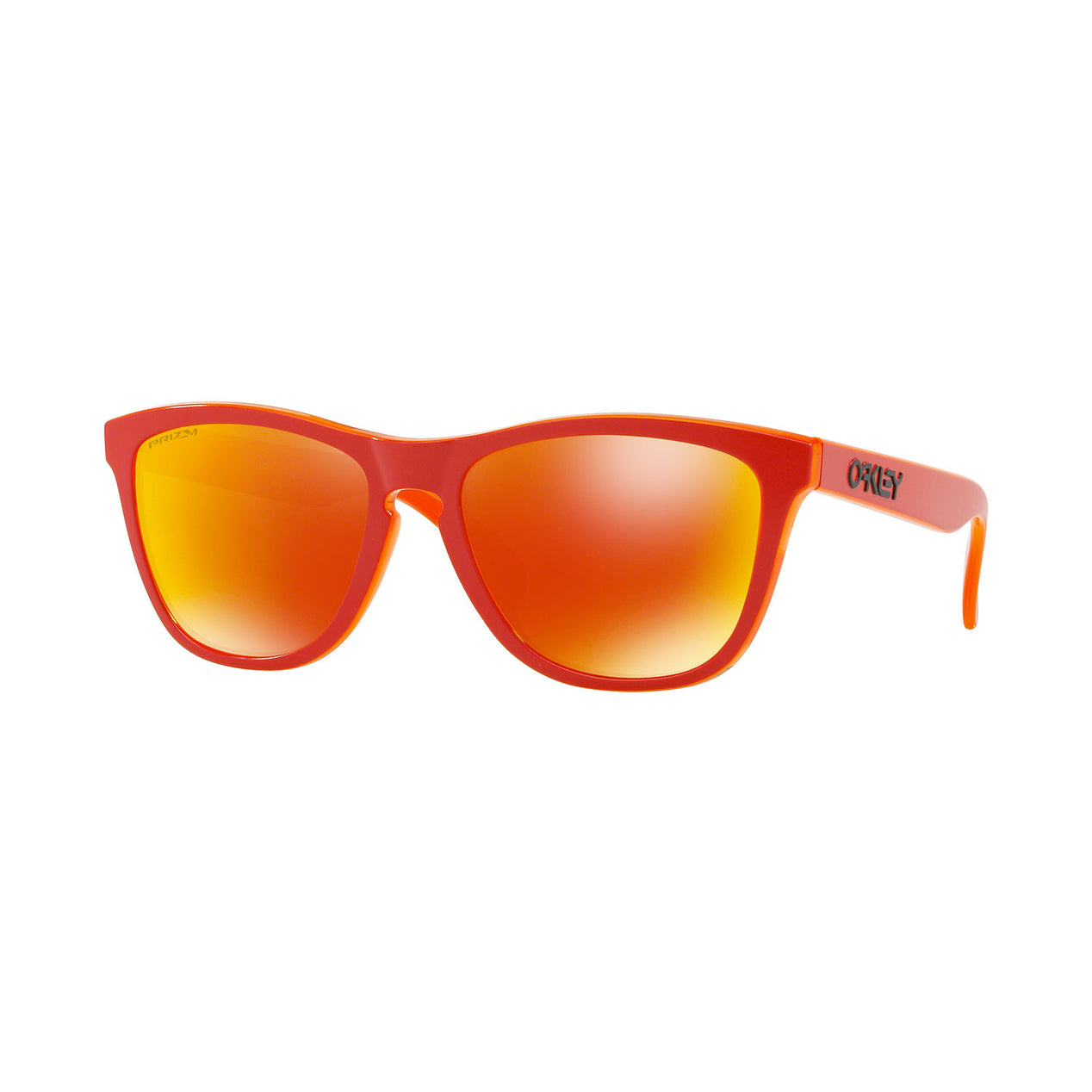 b4d5a32f21 Oakley Frogskins Grips - Matte Red Translucent Orange - Prizm Ruby Iridium  Lens Sunglasses