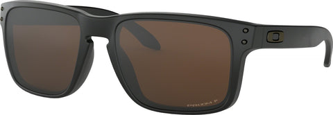 Oakley Holbrook - Matte Black - Prizm Tungsten Polarized Lens Sunglasses