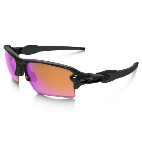 Oakley Flak 2.0 XL - Polished Black - Prizm Trail Lens Sunglasses