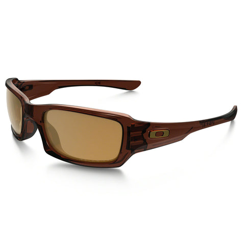 Oakley Fives Squared - Polished Rootbeer - Bronze Polarized Lens Sunglasses