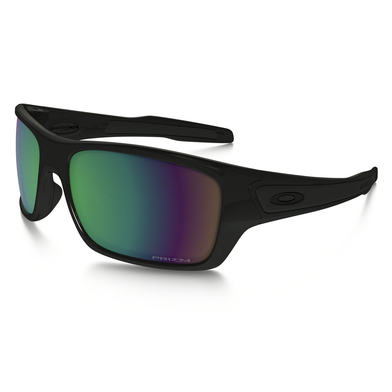 ec475a54abc Oakley Turbine - Polished Black - Prizm Shallow Water Polarized Lens  Sunglasses