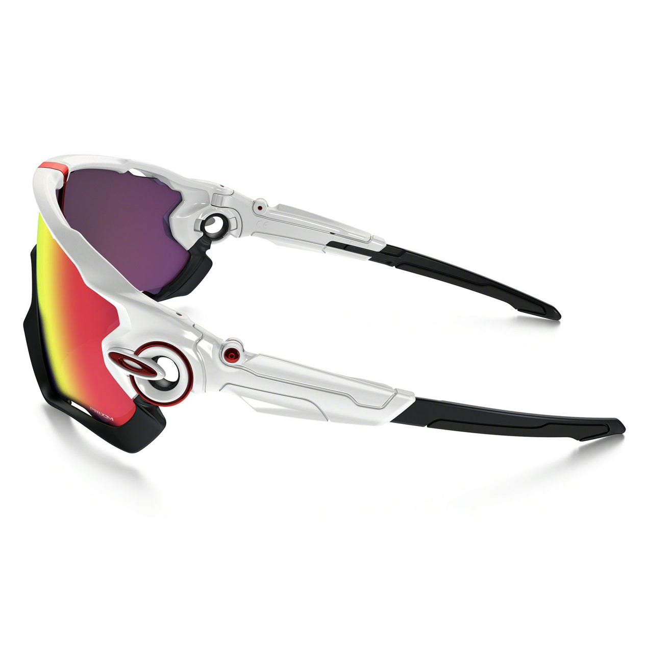 80b7524d82f Oakley Jawbreaker - Polished White - Prizm Road Lens Sunglasses ...