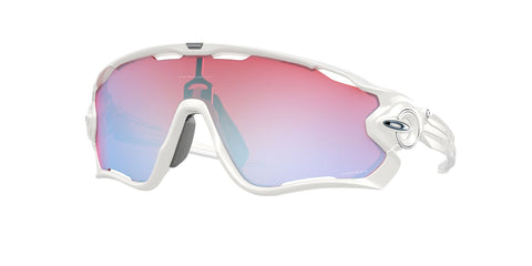 Oakley Jawbreaker Sunglasses - Polished White - Prizm Snow Sapphire Iridium Lens