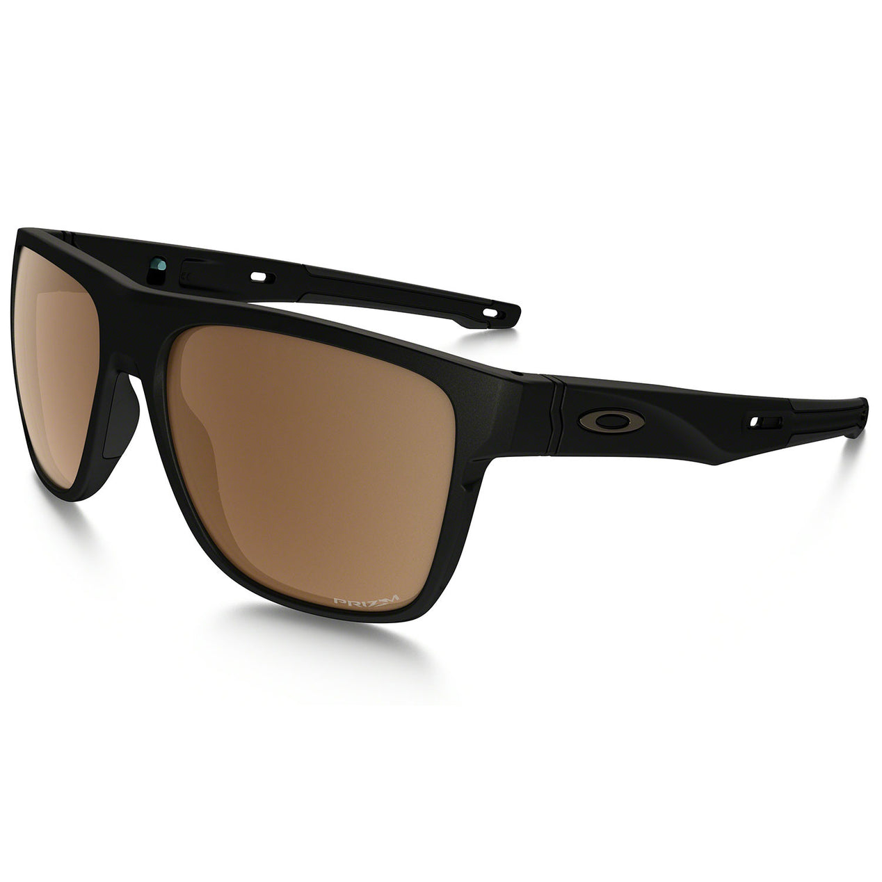 7af87b79a8d Oakley Crossrange XL - Matte Black - Prizm Tungsten Polarized Lens  Sunglasses