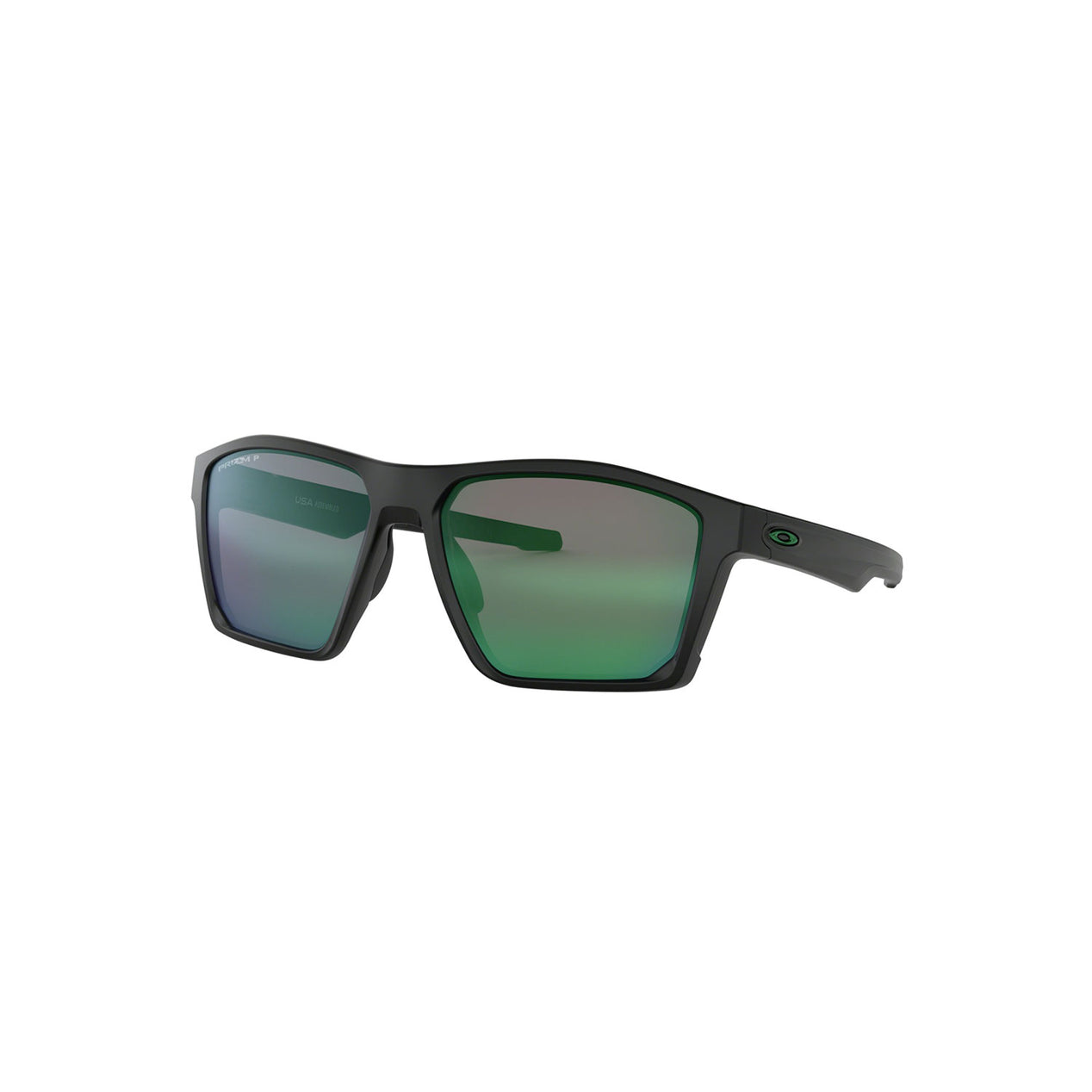 a6276b43d2 Oakley Targetline Matte Black - Prizm Jade Iridium Polarized Lens Sunglasses