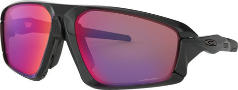 Oakley Field Jacket - Polished Black/Black - Prizm Road Lens Sunglasses
