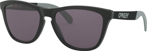 Oakley Frogskins Mix - Matte Black - Prizm Grey Lens Sunglasses