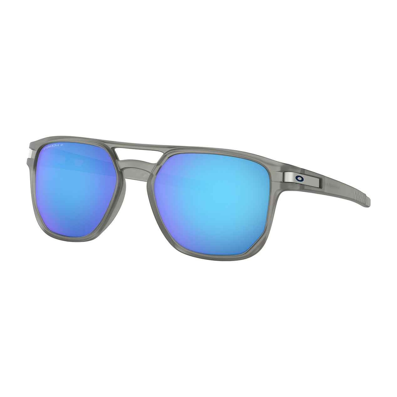 de197f0649 Latch Beta - Matte Grey Ink - Prizm Sapphire Iridium Polarized Lens  Sunglasses No Color ...