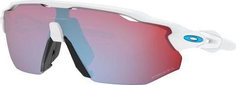 Oakley Radar EV Advancer Sunglasses - Polished White - Prizm Snow Sapphire Iridium Lens