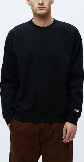 Obey Jumble Logo Crew - Men's