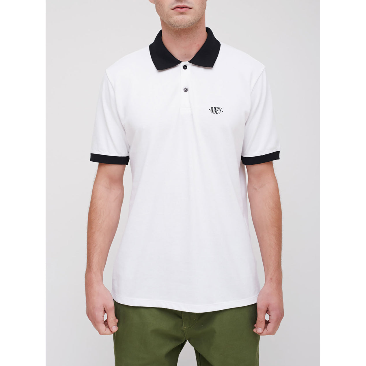 Obey Chandail Polo No Coast Homme   Altitude Sports 211ef6056882